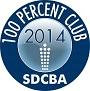 100%Club Button 2014